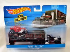 Hot Wheels Auto Hauler ROAD ROLLER Hot Rod Rat Rod Bone Shaker Car Included