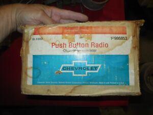 NOS 1967 Chevrolet Chevelle El Camino SS 396 AM radio kit radio & dash speaker