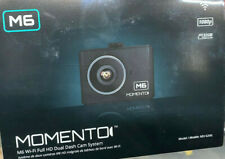 Momento MD-6200 M6 Dual DashCam Front Back Wi-Fi Camera HD DVR GPS Brand New