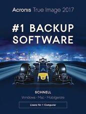 Acronis True Image 2017 3 PC MAC Backup