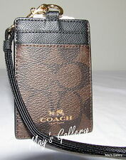 Coach Handbag ID Credits business Credit holder case skin cover card pouch NWT
