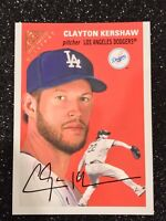TOPPS GALLERY 2020 CLAYTON KERSHAW HERITAGE LA DODGERS #HT-16