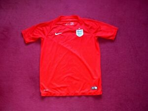 Nike England Away Football Shirt/top/jersey/child extra large 13-15 years
