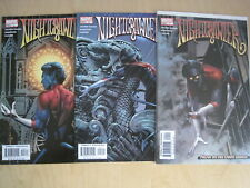 NIGHTCRAWLER : MARVEL 2004 1st SERIES by ARUIRRE-SACASA, issues 1,2,3 VFN-NM