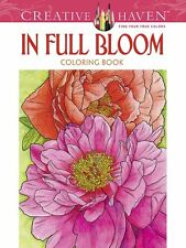 Premium Coloring Book Page for Adult Painting Beautiful Flowers Pattern Activity
