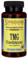 TMG (Trimethylglycine) 500 mg x 90 Capsules Premium ** AMAZING PRICE **