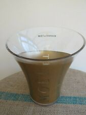 MOET & CHANDON LARGE ACRYLIC CHAMPAGNE ICE BUCKET IN GOOD USED CONDITION