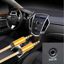 3.5mm Gold Male to Male Car Aux Auxiliary Cord Stereo Audio Cable for Phone iPod