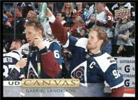2019-20 Upper Deck UD Canvas #C59 Gabriel Landeskog - Colorado Avalanche