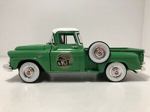 M2 1958 GMC STEPSIDE LIGHT GREEN 1:24 SCALE DIE CAST ! FREE SHIPPING