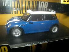 "1:43 Greenlight Mini Cooper 2003 ""The Italian Job"" blau/blue OVP"