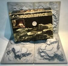 ECO Moonspace 4 plates in original box moon landscape mondlandschaft W-Germany