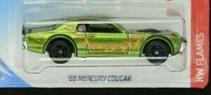 Hot Wheels Super Treasure Hunt '68 Mercury Cougar + protector