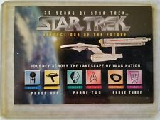 STAR TREK REFLECTIONS THE FUTURE 30TH ANNIVERSARY PHASE 3 MBNA CREDIT CARD PROMO