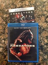 Predators (Blu-ray DVD 3-Disc) Authentic US Release Scratch Free