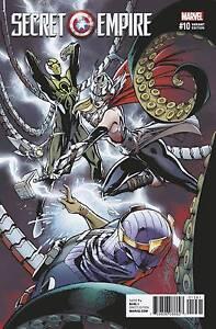 SECRET EMPIRE #10 1:50 J SCOTT CAMPBELL VARIANT COVER Captain America Hail Hydra