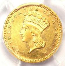 1874 Indian Gold Dollar (G$1 Coin) - Certified PCGS AU Details - Rare!