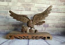 Rosewood Eagle Samurai Sword Holder Stand Katana Wakizashi Tanto Display Rack