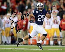 Saquon Barkley Penn State Football Signed 8X10 Photo Rp Heisman We Are PSU