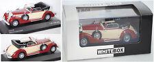 Horch 853a Cabriolet dunkelrot / beige 1 43 WhiteBox