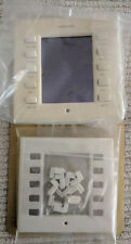 """CRESTRON CT-1000 COLOR TOUCHPANEL 3.8"""" Wall MOUNT with FACEPLATE BEZEL x 2"""