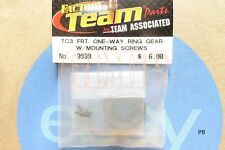 Associated TC3 One Way Ring Gear w / Mounting Screws Part # 3939