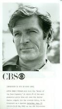 HUGH O'BRIAN RUGGED OUTSIDE PIC MODEL OF THE YEAR PAGEANT 1973 CBS TV PHOTO