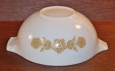 Vintage Pyrex BUTTERFLY GOLD 443 Cinderella Bowl 2-1/2 Qt
