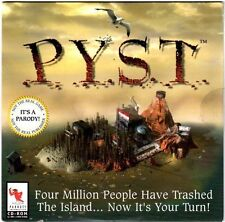 P.Y.S.T. (PC, 1996) Interactive CD-ROM and Online Comedy Game