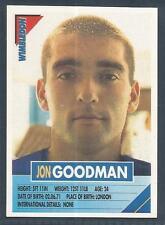 PANINI SUPERPLAYERS 1996 #310-WIMBLEDON-JON GOODMAN