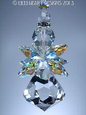 m/w Swarovski Crystal AB 40mm BIG HUGE Bell Angel SunCatcher Lilli Heart Designs
