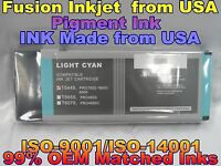cartridge fits Epson Stylus Pro 4000 7600 9600 Light Cyan T5445 lc pigment ink f