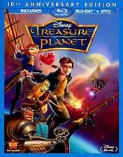 Treasure Planet (Blu-ray Disc, 2012, 2-Disc Set, 10th Anniversary Edition)