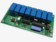 DMX08R DMX to 8 channel relay converter