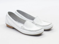 Tamaris Womens EU Size 36 White Leather Shoes