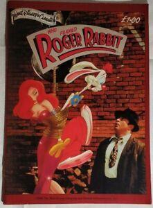 Who Framed Roger Rabbit Comic Book 1988