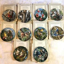 Garden Birds Knowles 10 Kevin Daniel Collector Plates Encyclopedia Britannica B