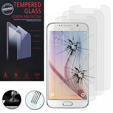 3X Safety Glass for Samsung Galaxy S6 Sm-G920 Genuine Glass Screen Protector