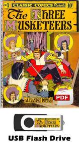 Classics Illustrated Comics & Classics Illustrated Junior 246 Issues on 8GB USB