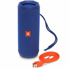 JBL Flip 4-BLUE Wireless Portable Stereo Bluetooth Speaker with Micro-USB Cable
