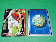 FOOTBALL CARD WIZARDS 2001-2002 GREGORY LACOMBE AS MONACO LOUIS II PANINI