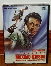 MAXIMO RIESGO CLIFFHANGER DVD NUEVO PRECINTADO ACCION SYLVESTER STALLONE R2