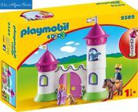 Playmobil 123 Schlösschen m. Stapelturm 9389  Schloss Prinzessin Prinz Neu OVP