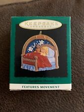 Hallmark 1995 Miniature Sugarplum Dreams Features Movement