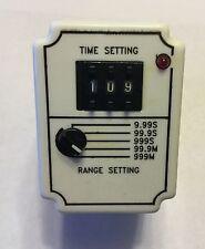 Square D Timing Relay 9050JCK60V14, 0.05 - 999 Minute Range (New)