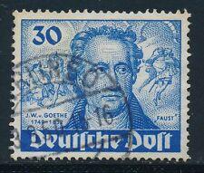 Gestempelte Briefmarken aus Berlin (1948-1949) mit Arbeitswelt-Branchen-Motiv