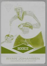 11/12 Titanium Rookie Yellow Printing Plate Ryan Johansen 1/1 184 Jackets