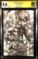 BATMAN WHO LAUGHS #6 CGC SS 9.8 MICO SUAYAN SKETCH VARIANT GRIM KNIGHT JOKER DC