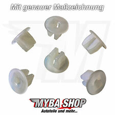 10x Protection Fixation Clip VW Peugeot FIAT Citroen | 155809966 6992g2 14115980