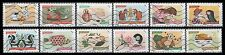 France 2014 Sense of Smell Booklet Stamps (12 USED Stamps Issued 2014)